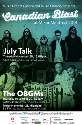 Can Blast ad for M for Montreal 2014
