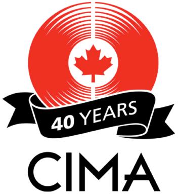 CIMA 40yr logo