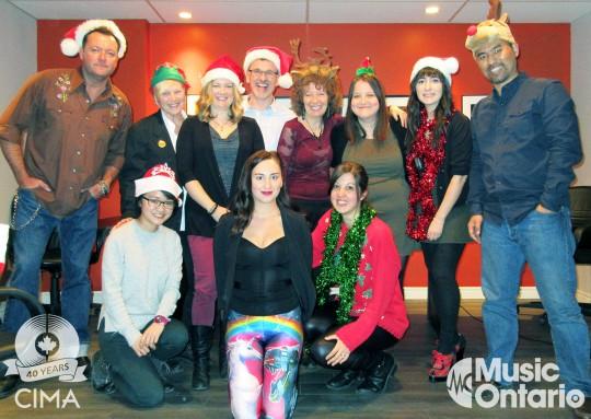Staff Holiday photo 2015