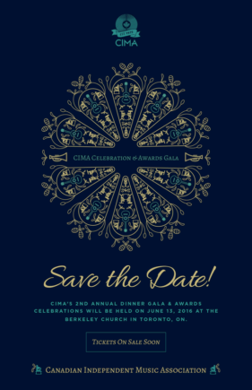 CIMA 2016 Annual Gala and Awards poster