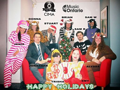 CIMA Happy Holidays