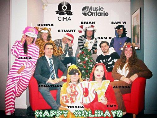 CIMA Happy Holidays